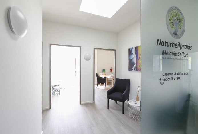 Naturheilpraxis Melanie Seifert - Eingangsbereich